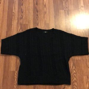 Gently used black sweater